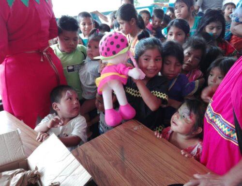 EGESA. S.A lleva diversión a las niñas y niños de la Comunidad de Guayacán